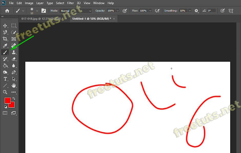 cach ve duong cong trong photoshop 1 jpg