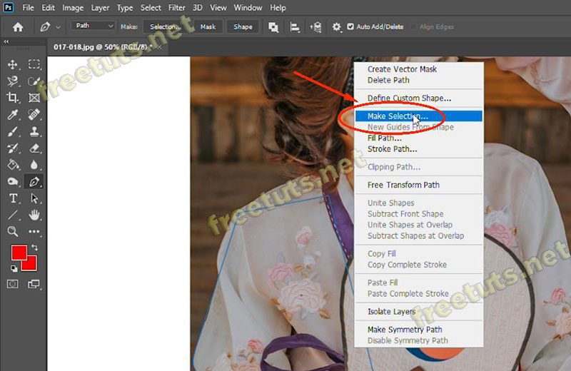 cach ve duong cong trong photoshop 10 jpg