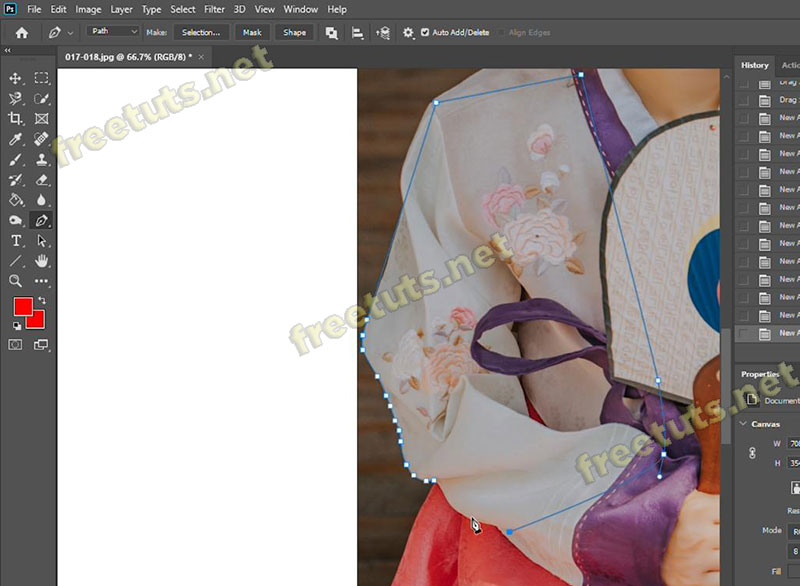 cach ve duong cong trong photoshop 9 jpg