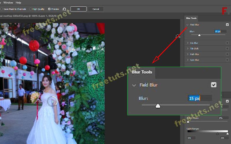 cach lam mo phong nen trong photoshop 10 jpg
