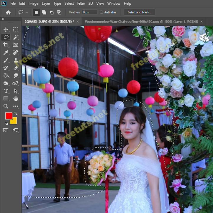 cach lam mo phong nen trong photoshop 2 jpg