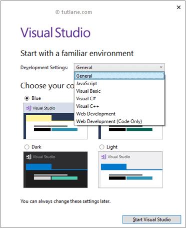start visual studio create csharp project png