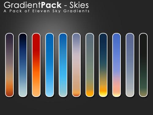 gradients pack skies jpg