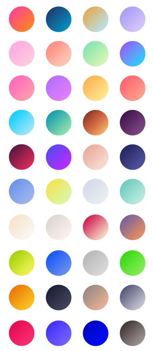 40 Free Cool Gradients For Photoshop jpg