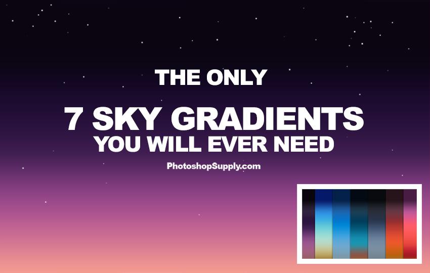 sky gradients photoshop jpg