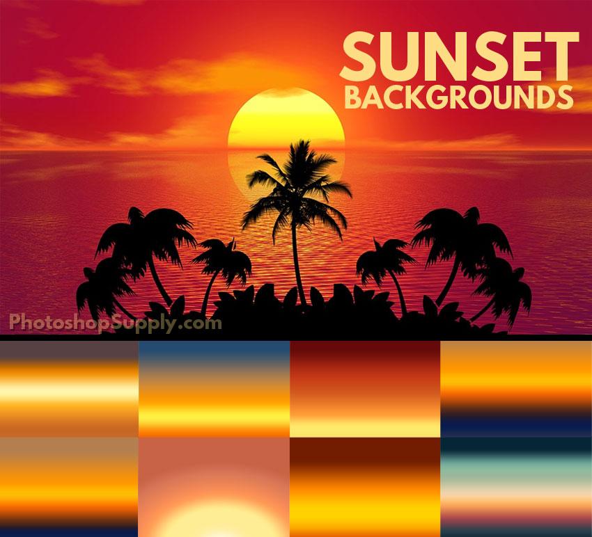 sunset backgrounds jpg