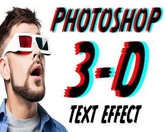 Cách tạo chữ 3D Retro trong Photoshop