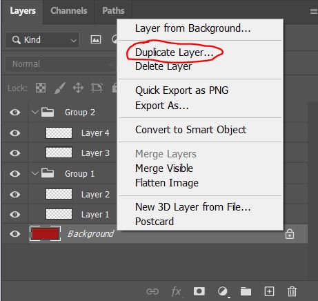 duplicate layer JPG