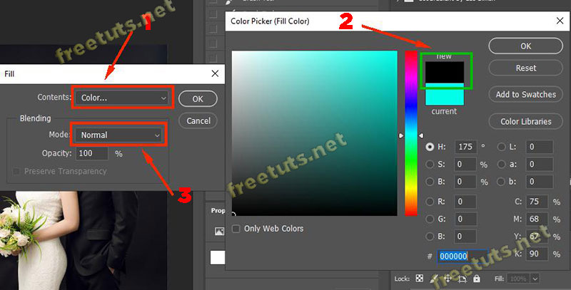 layer mask trong photoshop 6 jpg