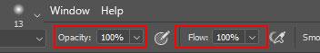opacity va flow jpg