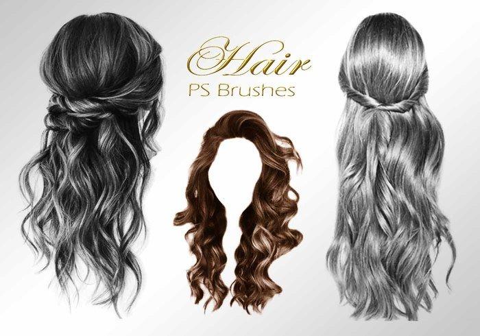 20 hair female ps brushes abr vol 1 jpg