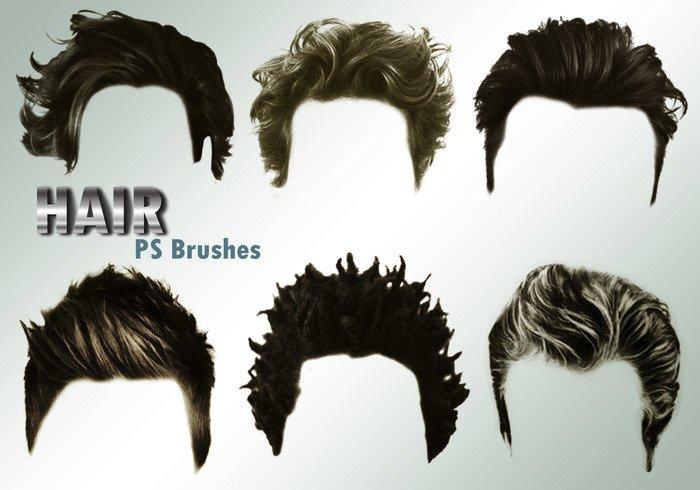 20 hair male ps brushes abr vol 4 jpg