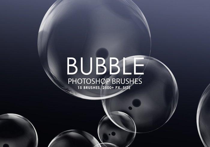 free bubble photoshop brushes jpg