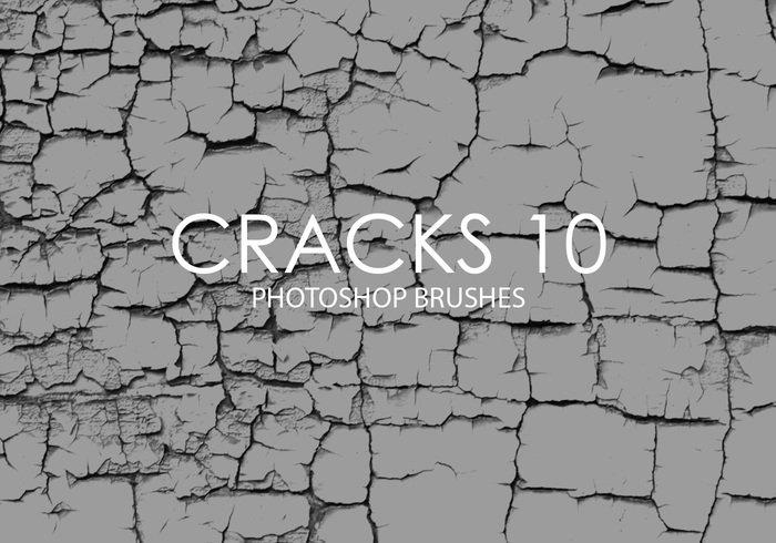 free cracks photoshop brushes 10 jpg