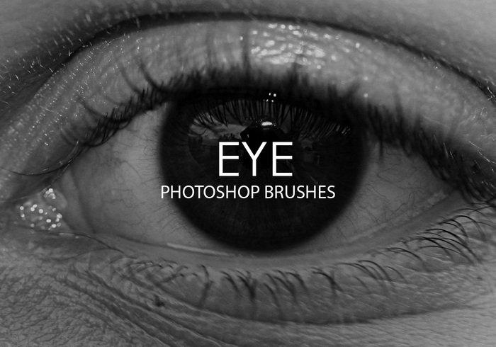 free eye photoshop brushes jpg