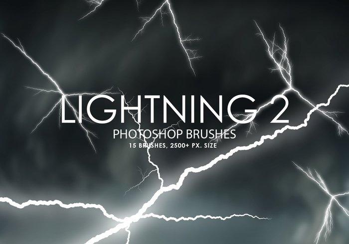 free lightning photoshop brushes 2 jpg