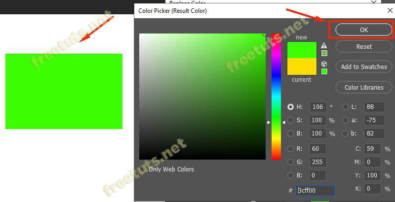 Cach doi mau layer trong photoshop 6 jpg