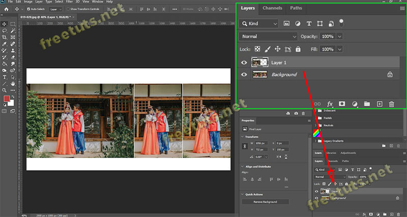 cach lat layer trong Photoshop 1 jpg