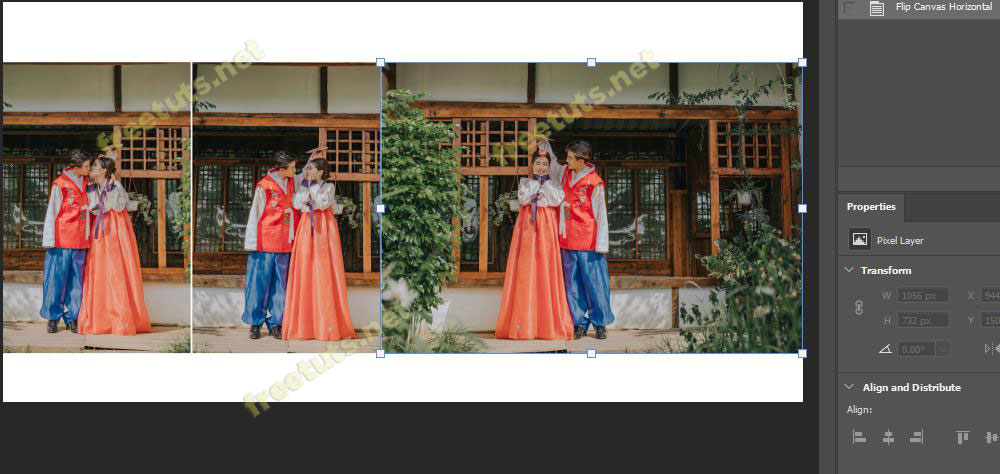 cach lat layer trong Photoshop 5 jpg