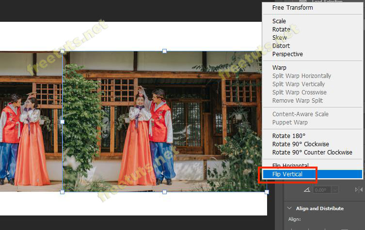 cach lat layer trong Photoshop 6 jpg