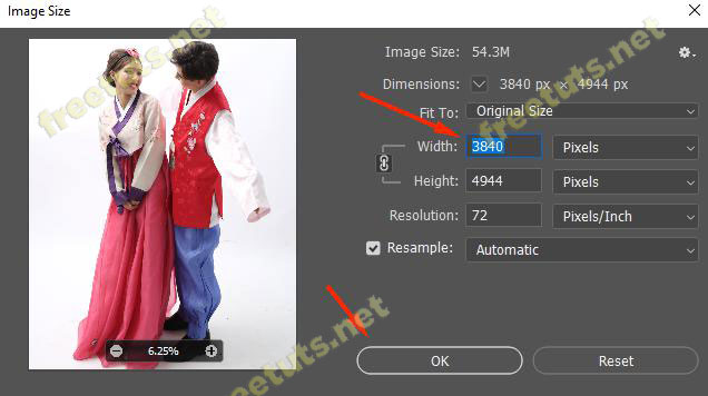 Cach resize hinh anh trong Photoshop 2 jpg