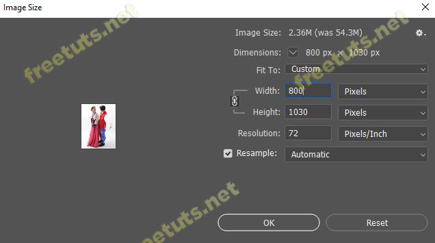 Cach resize hinh anh trong Photoshop 3 jpg