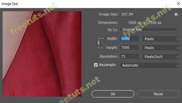 Cach resize hinh anh trong Photoshop 5 jpg