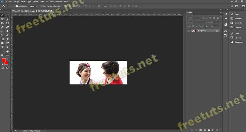 cong cu crop tool trong Photoshop 2 jpg