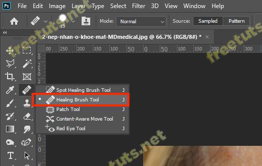 Cach xoa nep nhan trong Photoshop 2 jpg