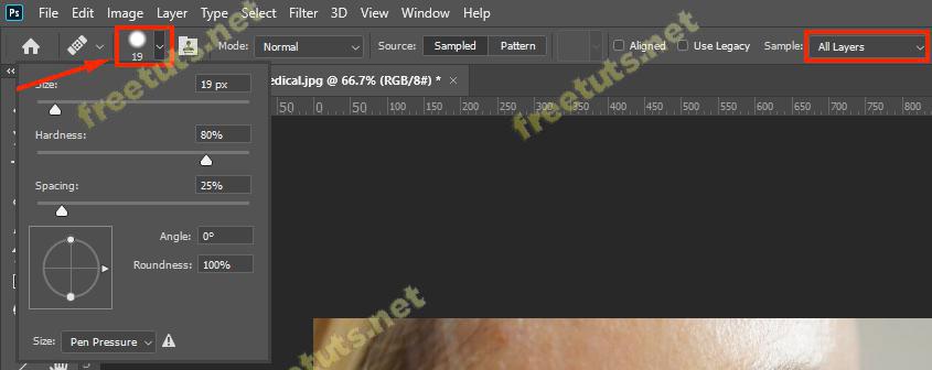 Cach xoa nep nhan trong Photoshop 3 jpg
