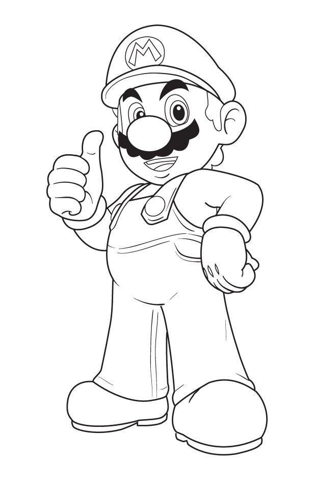 Tranh to mau cho be Mario jpg