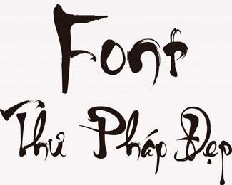 Tổng hợp 84 font chữ thư pháp khai xuân cực đẹp (miễn phí)