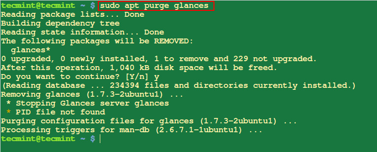 Remove Package Configuration Files png