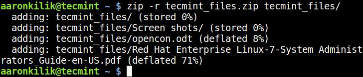 Create Zip File in Linux png