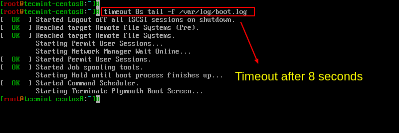 Set Time Limit to Commands png