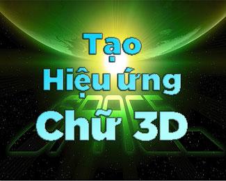 Tạo hiệu ứng chữ 3D với lệnh Distort và Perspective