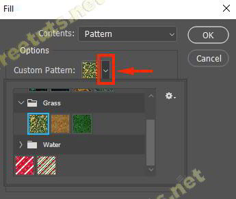 cach tao pattern trong photoshop 10 jpg