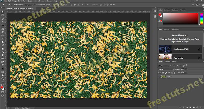 cach tao pattern trong photoshop 11 jpg