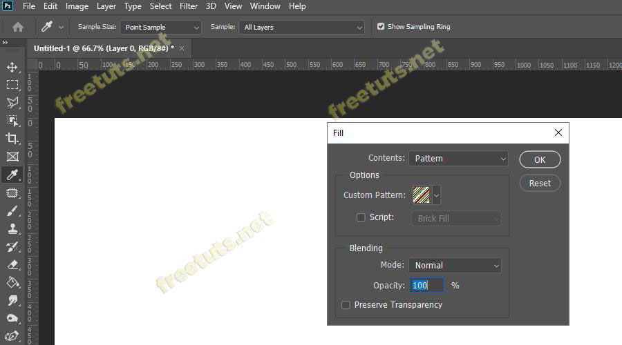 cach tao pattern trong photoshop 9 jpg