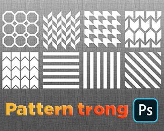 Cách tạo và sử dụng Pattern trong Photoshop