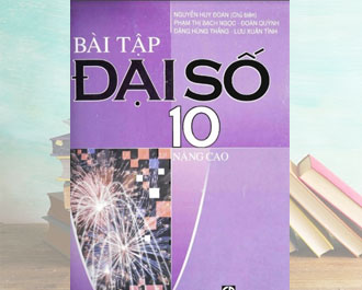 Tải sách bài tập toán đại số lớp 10 (nâng cao) pdf