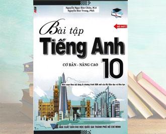 Tải sách bài tập tiếng anh 10 cơ bản và nâng cao pdf