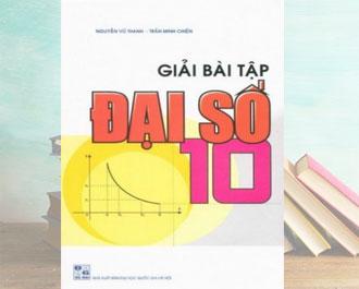 Tải sách giải bài tập toán đại số 10 pdf - Nguyễn Vũ Thanh