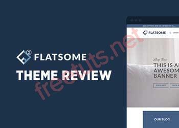 Review theme Flatsome WordPress version (3.14.3)